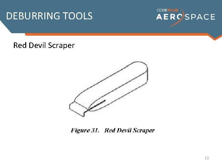 DEBURRING TOOLS Red Devil Scraper 13
