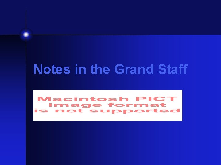 Notes in the Grand Staff