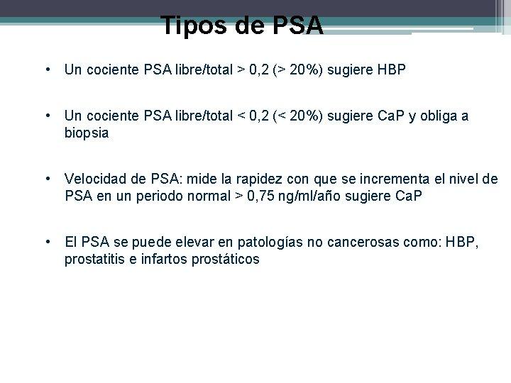 PSA prosztatitis