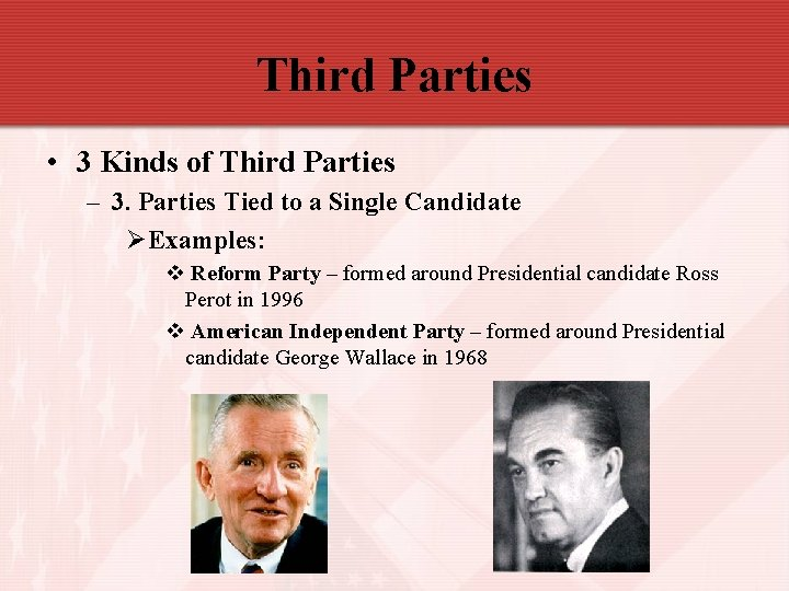 Third Parties • 3 Kinds of Third Parties – 3. Parties Tied to a