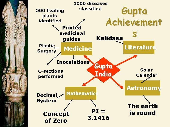 1000 diseases classified 500 healing plants identified Gupta Achievement s Kalidasa Printed medicinal guides