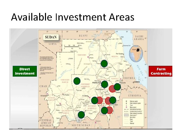 Available Investment Areas