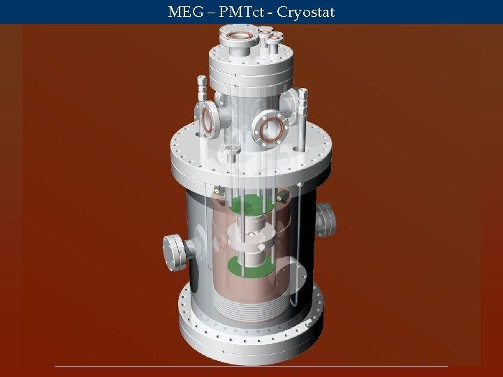MEG – PMTct - Cryostat Satoshi Mihara ICEPP, Univ. of Tokyo July 2003 MEG