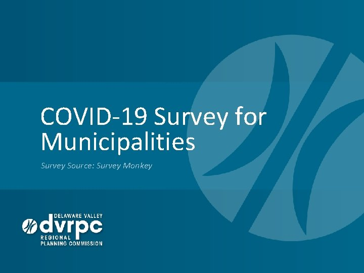 COVID-19 Survey for Municipalities Survey Source: Survey Monkey