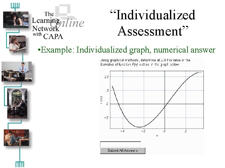 """""""Individualized Assessment"""" • Example: Individualized graph, numerical answer"""