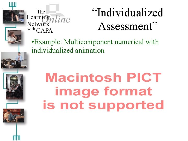 """""""Individualized Assessment"""" • Example: Multicomponent numerical with individualized animation"""