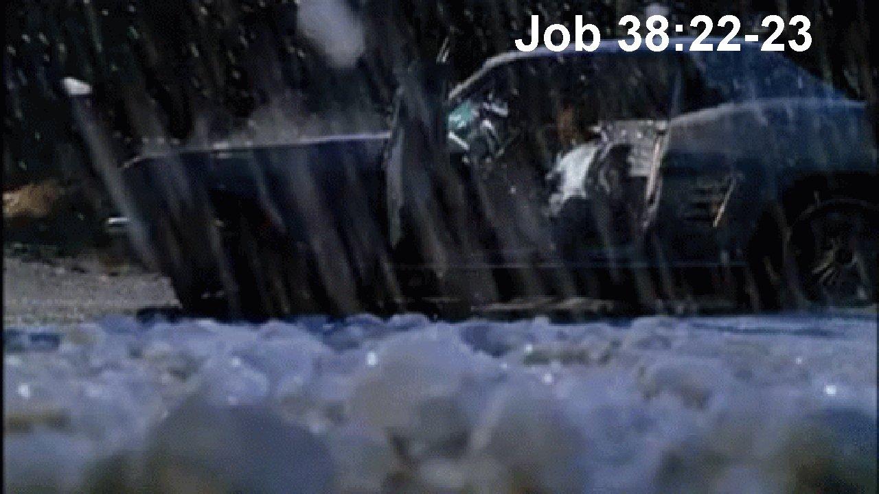 Job 38: 22 -23