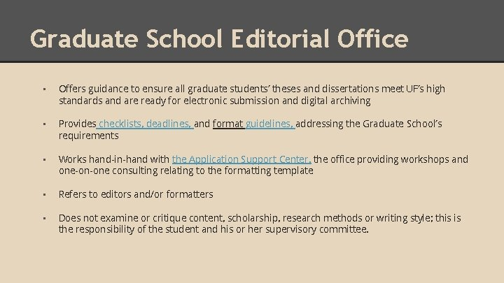 Uf thesis deadlines sample cover letter for pta