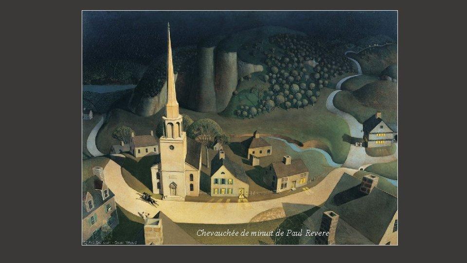 Chevauchée de minuit de Paul Revere