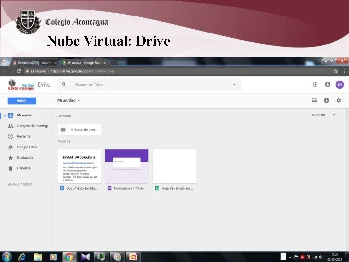 Nube Virtual: Drive