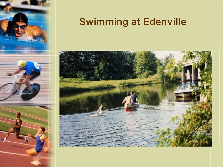 Swimming at Edenville