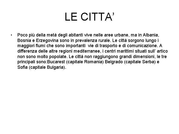 Cartina Geografica Fisica Della Romania.Carta Fisica Il Territorio Leuropa Balcanica Costituita Da
