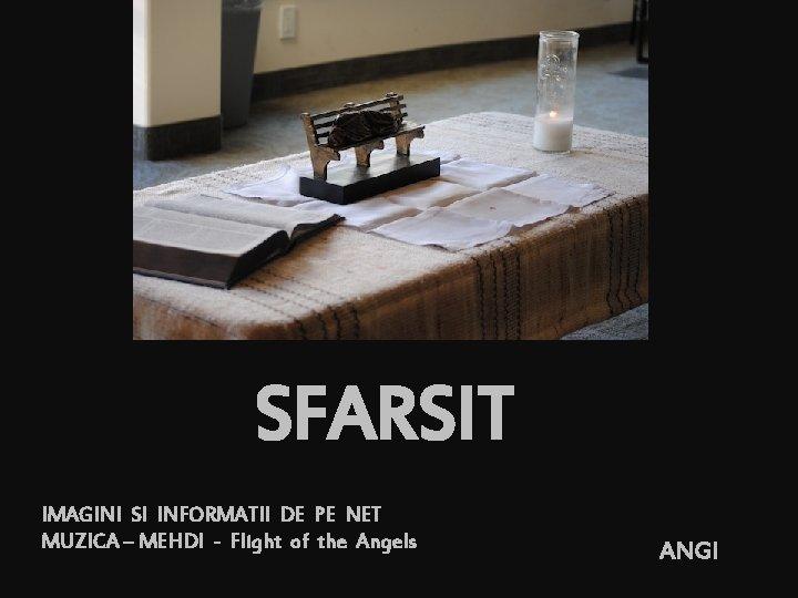 SFARSIT IMAGINI SI INFORMATII DE PE NET MUZICA – MEHDI - Flight of the