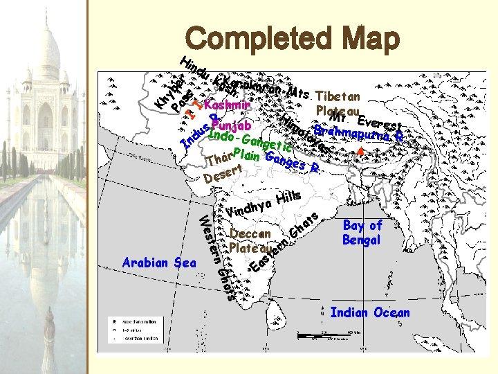 Completed Map H ind Kh y Pa ber I ss I u. Ksarakoran h