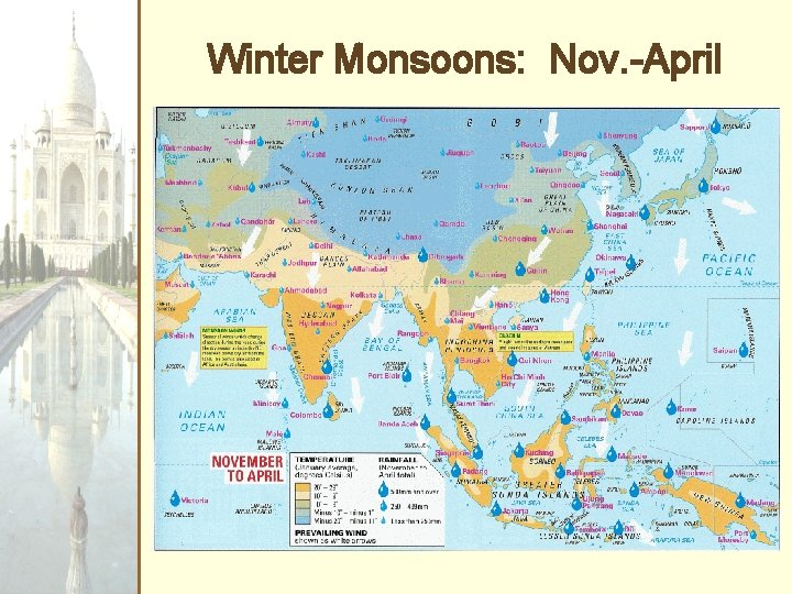 Winter Monsoons: Nov. -April