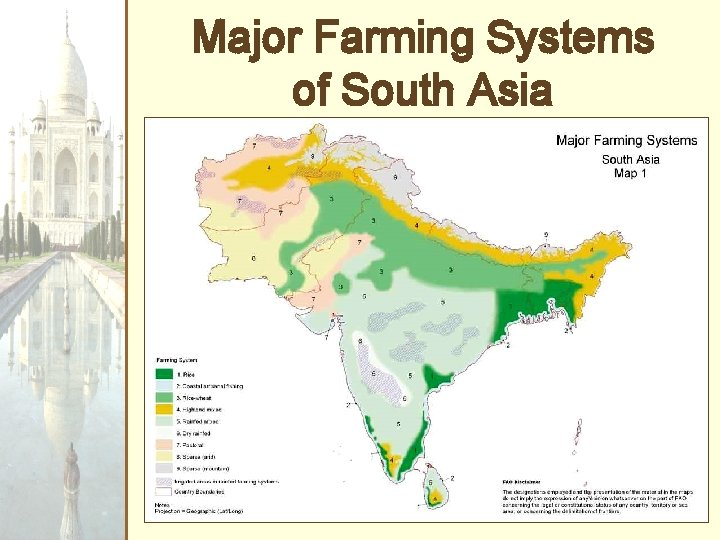 Major Farming Systems of South Asia