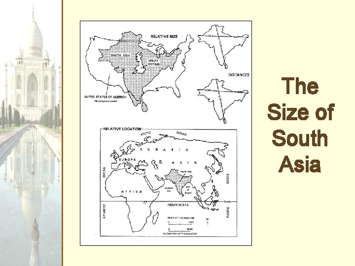 The Size of South Asia