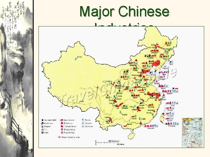 Major Chinese Industries