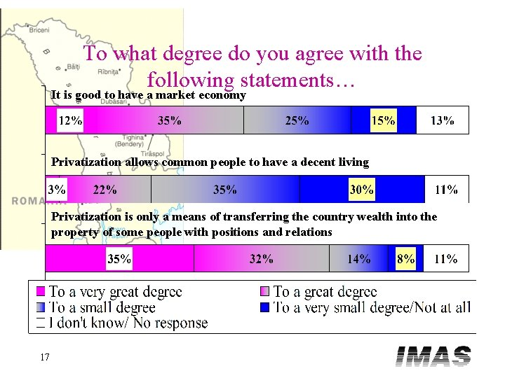 To what degree do you agree with the following statements… It is good to