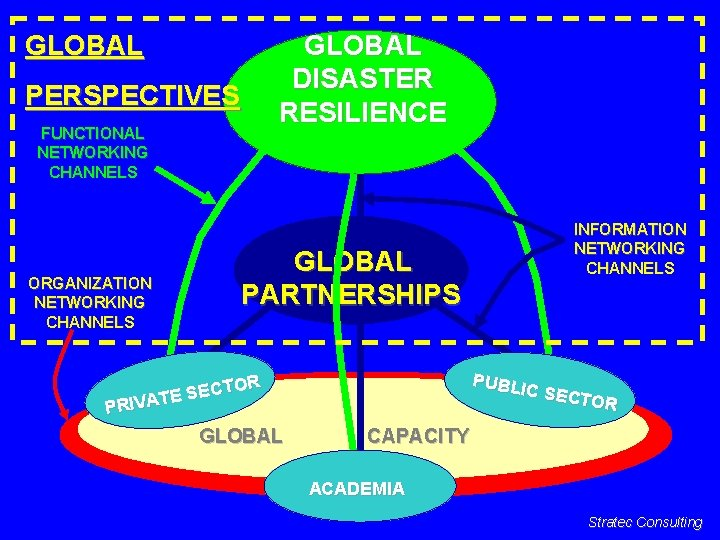 GLOBAL DISASTER RESILIENCE PERSPECTIVES FUNCTIONAL NETWORKING CHANNELS ORGANIZATION NETWORKING CHANNELS GLOBAL INFORMATION NETWORKING CHANNELS
