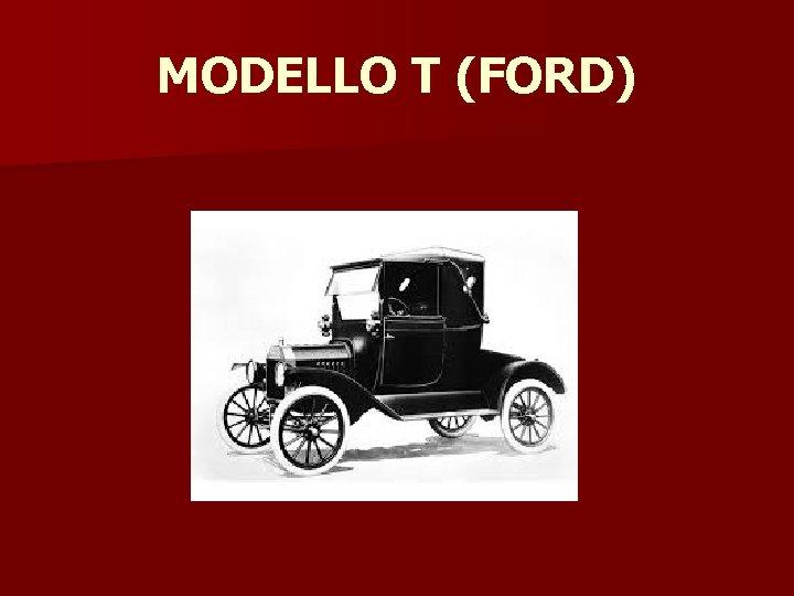 MODELLO T (FORD)