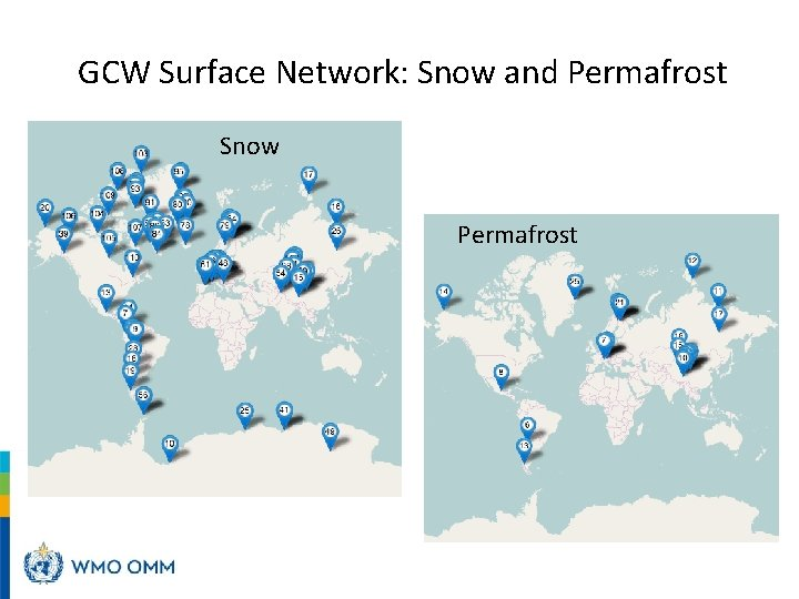 GCW Surface Network: Snow and Permafrost Snow Permafrost