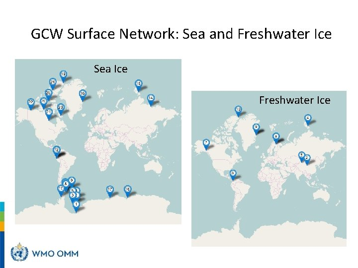 GCW Surface Network: Sea and Freshwater Ice Sea Ice Freshwater Ice
