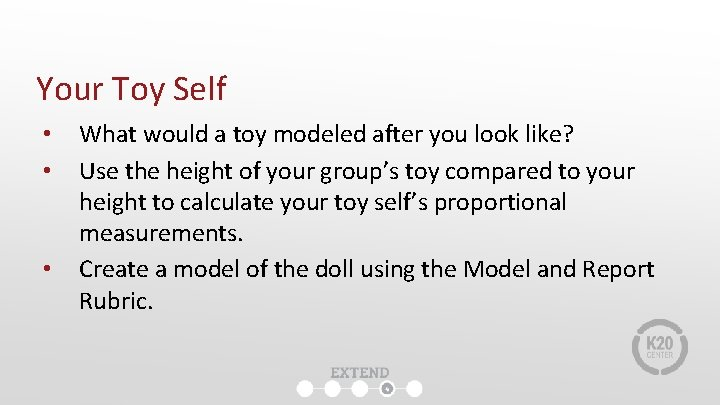 Your Toy Self • • • What would a toy modeled after you look