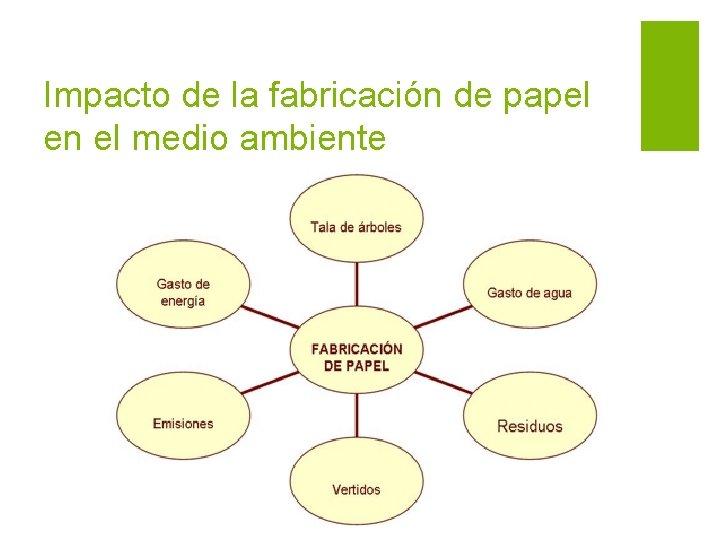 Impacto de la fabricación de papel en el medio ambiente