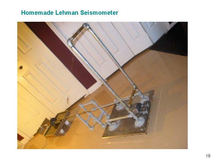 Homemade Lehman Seismometer Vibrationdata 18