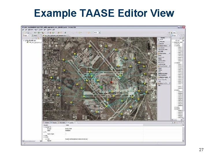 Example TAASE Editor View 27