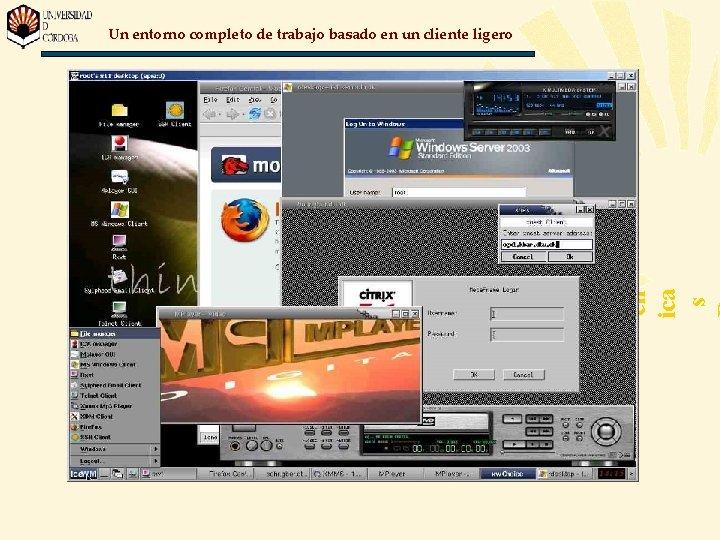 Jo rn ad as Té cn ica s Un entorno completo de trabajo basado