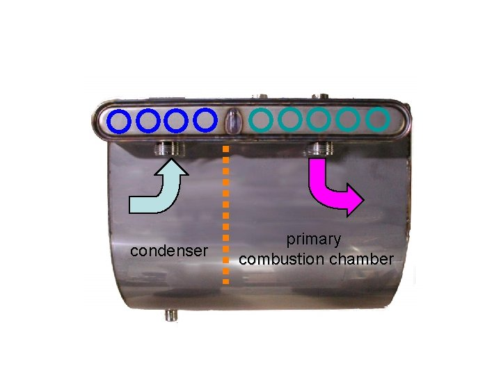 Giannoni Heat Exchanger condenser primary combustion chamber