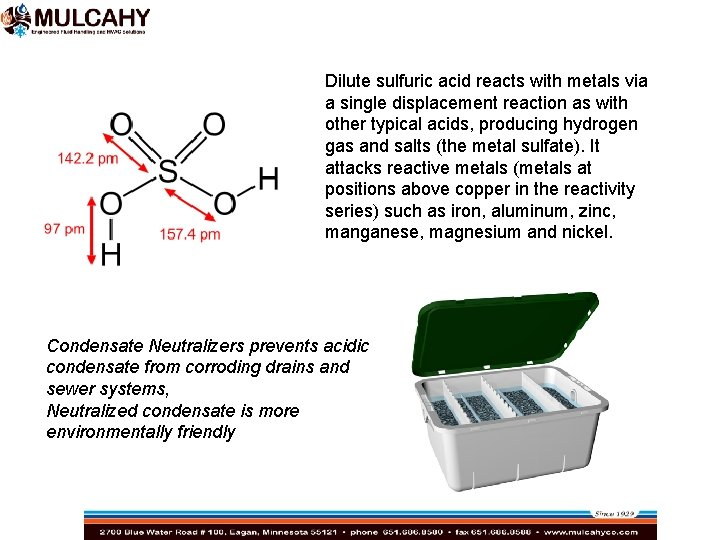 Dilute sulfuric acid reacts with metals via a single displacement reaction as with other