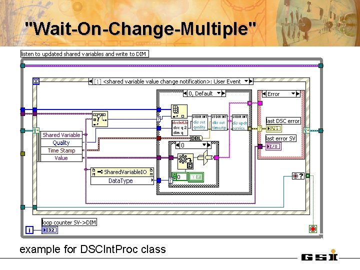 """""""Wait-On-Change-Multiple"""" example for DSCInt. Proc class"""