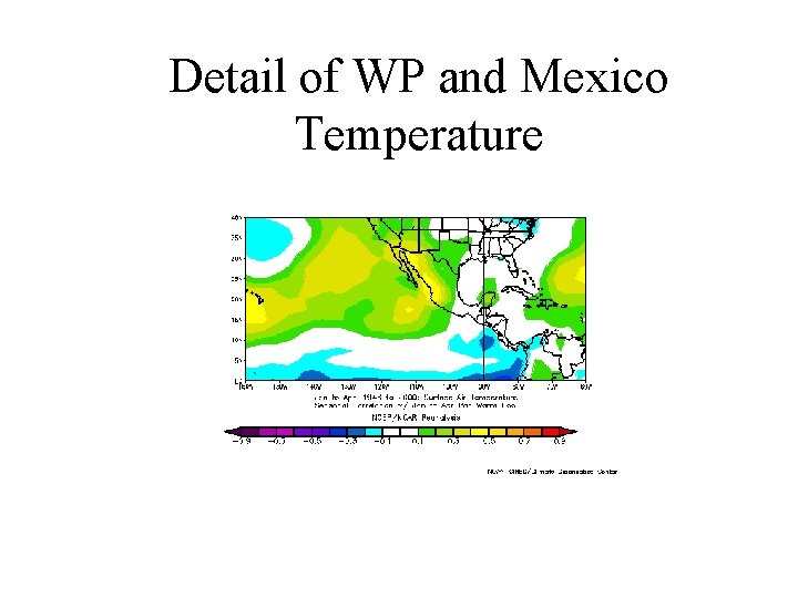 Detail of WP and Mexico Temperature