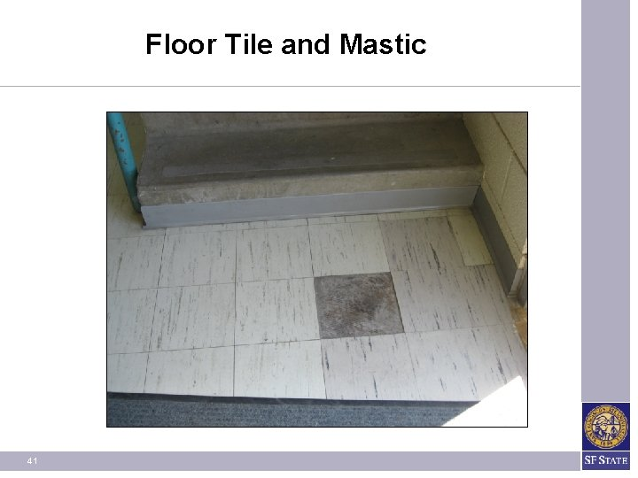 Floor Tile and Mastic 41