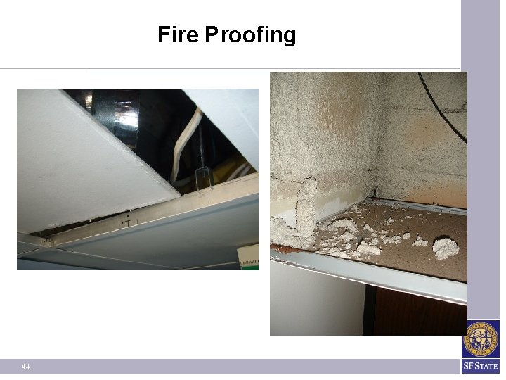 Fire Proofing 44