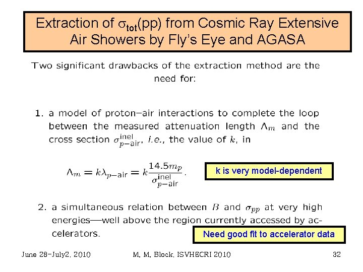 Extraction of stot(pp) from Cosmic Ray Extensive Air Showers by Fly's Eye and AGASA