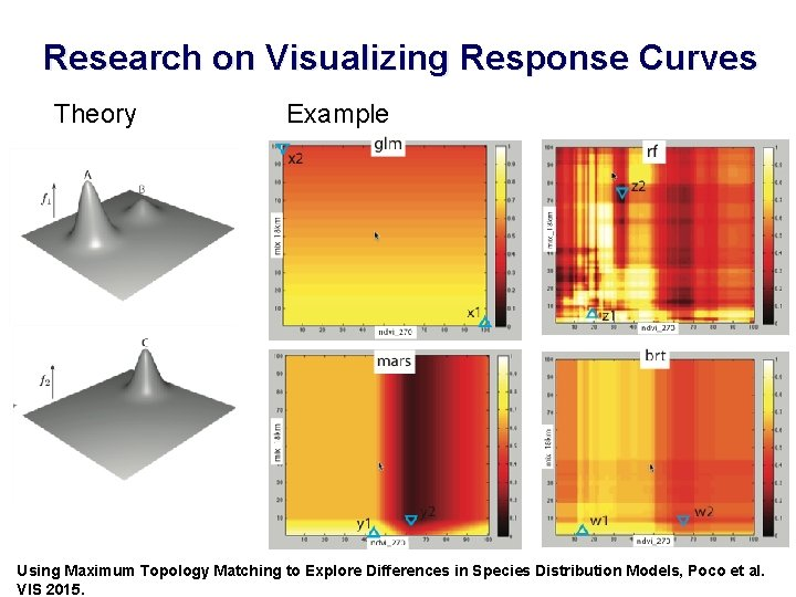 Research on Visualizing Response Curves Theory Example 15 Using Maximum Topology Matching to Explore