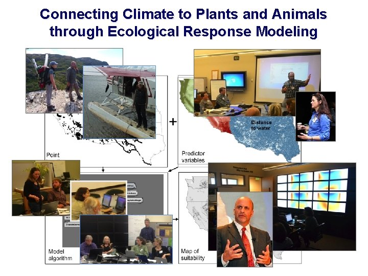 Connecting Climate to Plants and Animals through Ecological Response Modeling