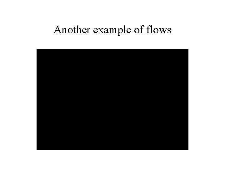 Another example of flows