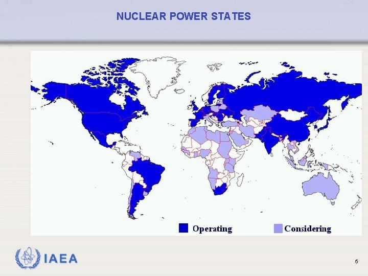NUCLEAR POWER STATES IAEA 5