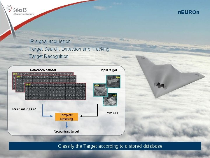 n. EUROn IR signal acquisition Target Search, Detection and Tracking Target Recognition Classify the