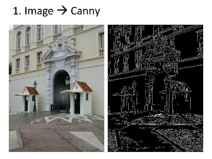 1. Image Canny