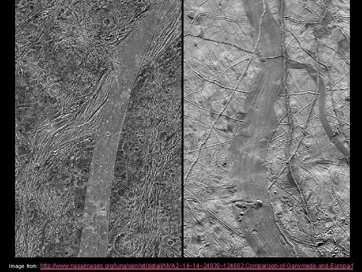 Image from: http: //www. nasaimages. org/luna/servlet/detail/NVA 2~14~14~24939~124662: Comparison-of-Ganymede-and-Europa-f