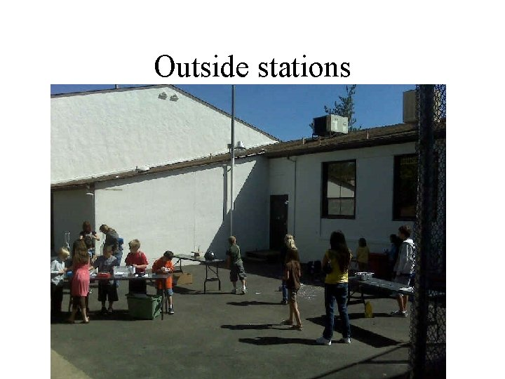 Outside stations
