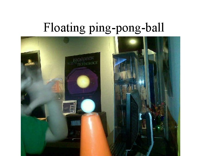 Floating ping-pong-ball