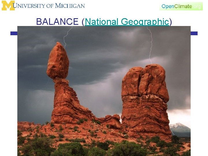 BALANCE (National Geographic)