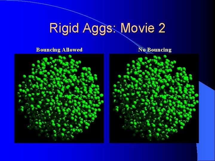 Rigid Aggs: Movie 2 Bouncing Allowed No Bouncing